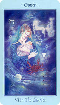 The Chariot Tarot Card - Celestial Tarot Deck