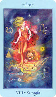 Strength Tarot Card - Celestial Tarot Deck