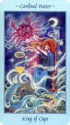 King of Cups Tarot card in Celestial deck