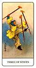 chinese - Three of Staves