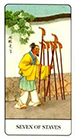 chinese - Seven of Staves