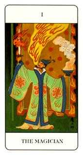 The Magician Tarot Card - Chinese Tarot Deck
