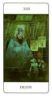 Death Tarot Card - Chinese Tarot Deck