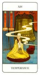 Temperance Tarot Card - Chinese Tarot Deck