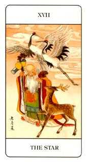 The Star Tarot Card - Chinese Tarot Deck