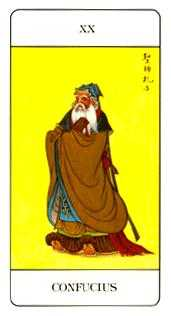 The Judgment Tarot Card - Chinese Tarot Deck