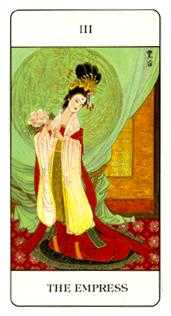 The Empress Tarot Card - Chinese Tarot Deck