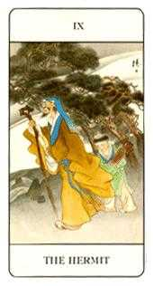 The Wise One Tarot Card - Chinese Tarot Deck