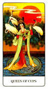 Queen of Cups Tarot card in Chinese Tarot deck