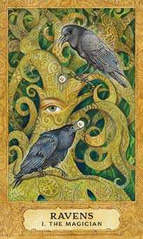 The Magician Tarot Card - Chrysalis Tarot Deck