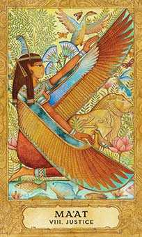 Justice Tarot Card - Chrysalis Tarot Deck