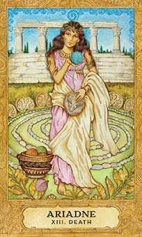 The Close Tarot Card - Chrysalis Tarot Deck