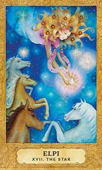 The Star Tarot Card - Chrysalis Tarot Deck