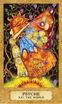The World Tarot Card - Chrysalis Tarot Deck