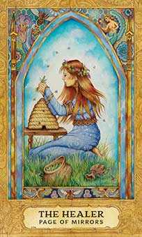 Princess of Hearts Tarot Card - Chrysalis Tarot Deck