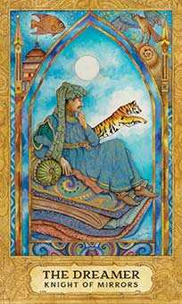 Cavalier of Cups Tarot Card - Chrysalis Tarot Deck