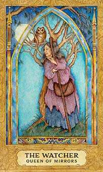 Reine of Cups Tarot Card - Chrysalis Tarot Deck
