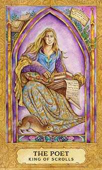 Father of Wind Tarot Card - Chrysalis Tarot Deck