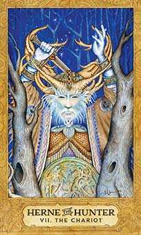 The Chariot Tarot Card - Chrysalis Tarot Deck