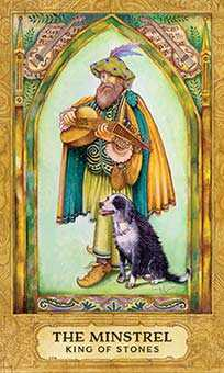 King of Coins Tarot Card - Chrysalis Tarot Deck