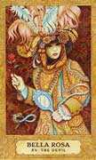 The Devil Tarot card in Chrysalis Tarot deck