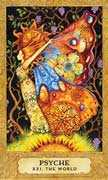 The World Tarot card in Chrysalis deck