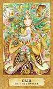 The Empress Tarot card in Chrysalis Tarot deck
