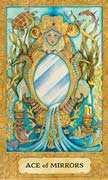 Ace of Cups Tarot card in Chrysalis Tarot deck