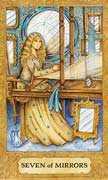 Seven of Cups Tarot card in Chrysalis Tarot deck