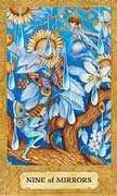 Nine of Cups Tarot card in Chrysalis Tarot deck