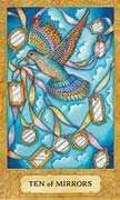Ten of Cups Tarot card in Chrysalis Tarot deck