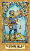 King of Cups Tarot card in Chrysalis Tarot deck