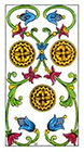 classic - Three of Pentacles