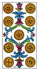 classic - Nine of Pentacles