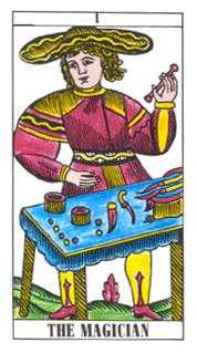 The Magus Tarot Card - Classic Tarot Deck