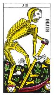 Death Tarot Card - Classic Tarot Deck