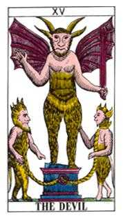 The Devil Tarot Card - Classic Tarot Deck