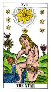 The Star Tarot Card - Classic Tarot Deck