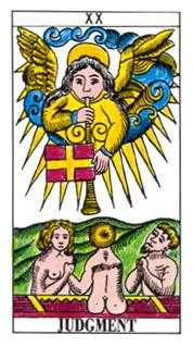 The Judgment Tarot Card - Classic Tarot Deck