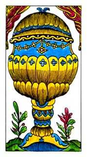 Ace of Cauldrons Tarot Card - Classic Tarot Deck