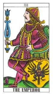 The Emperor Tarot Card - Classic Tarot Deck
