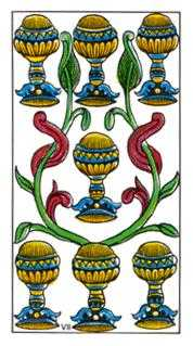 Seven of Cups Tarot Card - Classic Tarot Deck