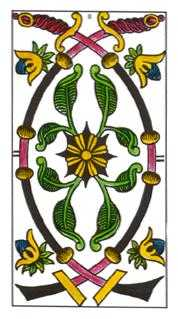 Two of Spades Tarot Card - Classic Tarot Deck