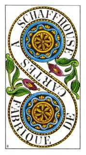 Two of Coins Tarot Card - Classic Tarot Deck