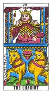 The Chariot Tarot Card - Classic Tarot Deck