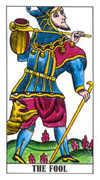 The Fool Tarot card in Classic deck