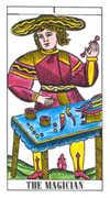 The Magician Tarot card in Classic Tarot deck