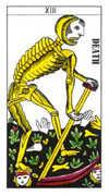 Death Tarot card in Classic deck