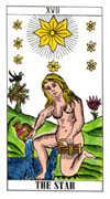 The Star Tarot card in Classic Tarot deck