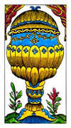 Ace of Cups Tarot card in Classic deck